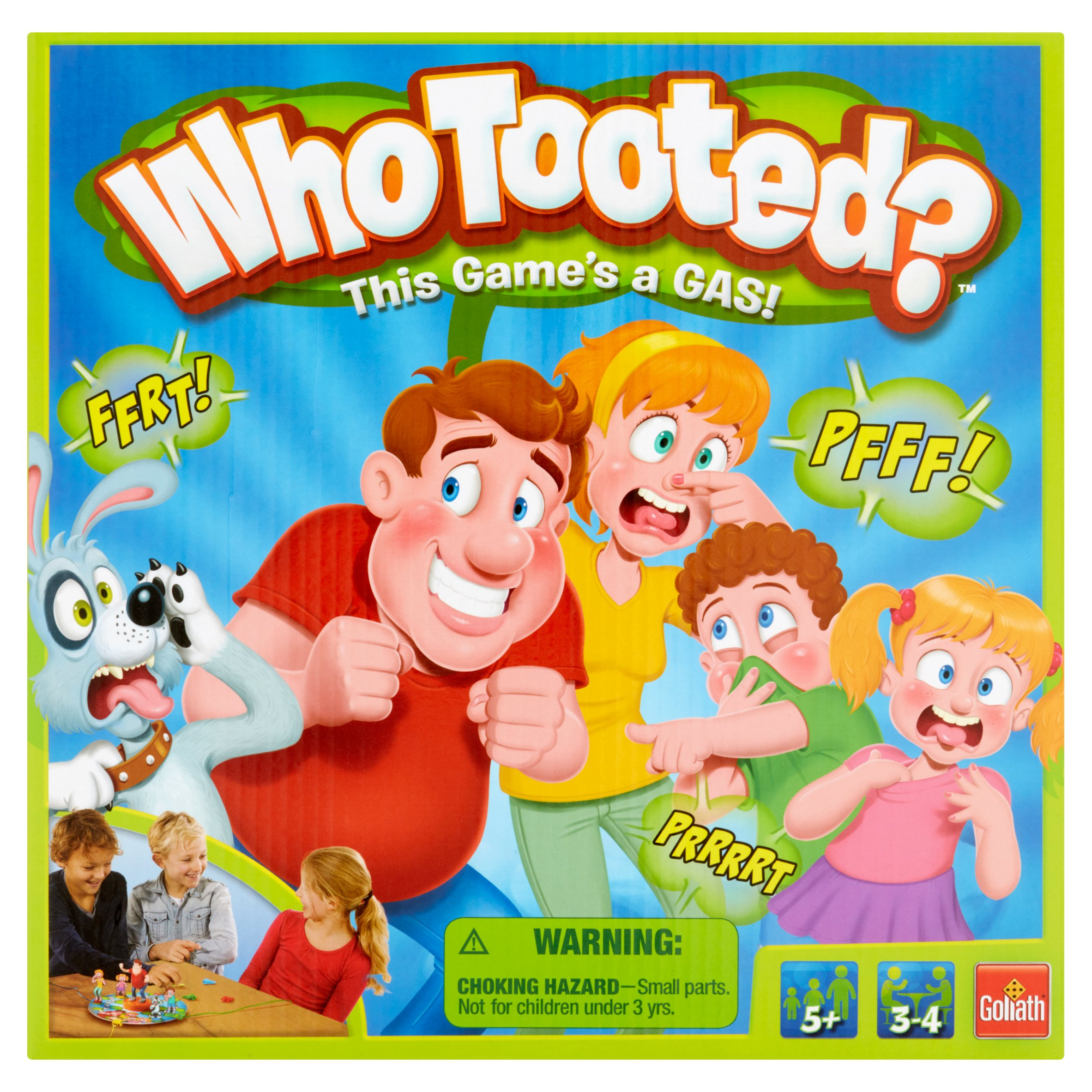 Goliath Whotooted? Board Game 5+ by Goliath Games, LLC