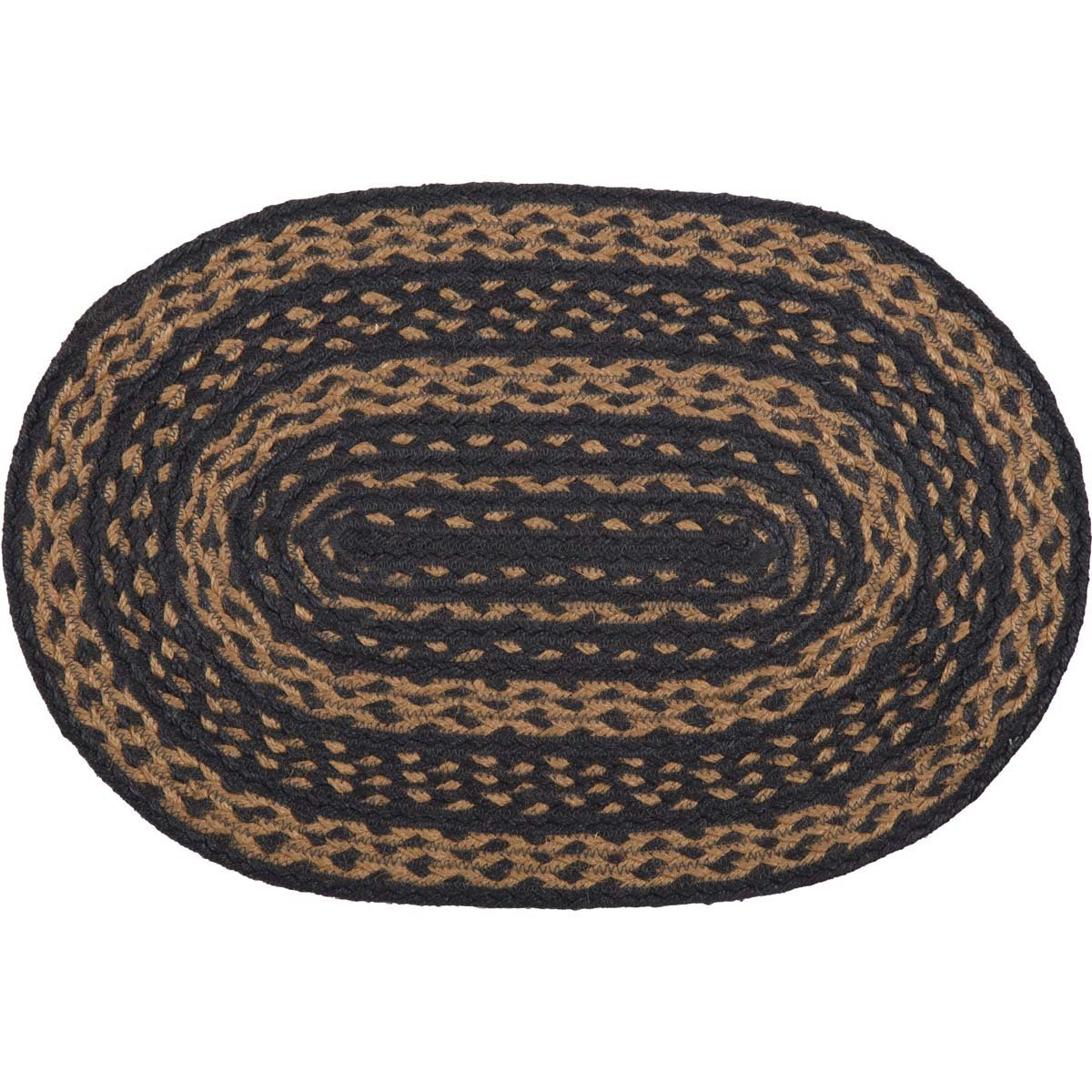 Patriot Navy Jute Placemat Set of 6 12x18
