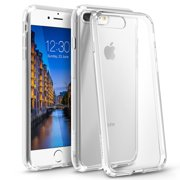 iPhone 8 Plus Case, iPhone 7 Plus Case, by BasAcc Clear Crystal Hard Case Cover with TPU Bumper For Apple iPhone 8 Plus / iPhone 7 Plus (Gift Idea)