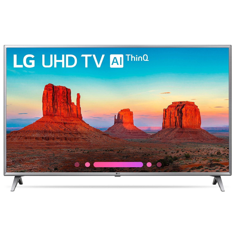 """Refurbished LG 50"""" Class 4K HDR Smart LED AI UHD TV w/ThinQ - 50UK6500AUA"""