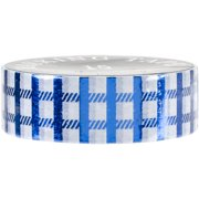 Love My Tapes Foil Washi Tape 15mmx10m-Blue Fence