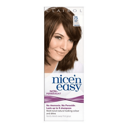 Clairol nice'n easy non permanent #75 light ash, UK Loving Care (Pack of 1) + Cat Line Makeup Tutorial](Easy Halloween Makeup Tutorial For Boys)