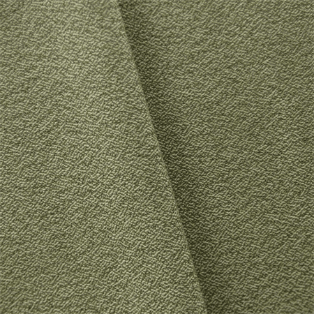 Sage Green/Ivory JR Scott Wool Crepe Home Decorating Fabric, Fabric By the - Crepe Wool