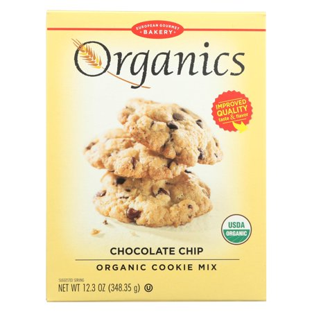 European Gourmet Bakery Organic Chocolate Chip Cookie Mix - Chocolate Chip - Case of 12 - 12.3