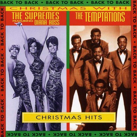 Temptations Christmas.Christmas With The Supremes And The Temptations Walmart Com