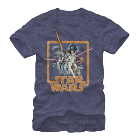 Star Wars Men's Throwback T-Shirt - Throwback Clothes Ideas