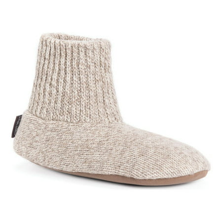 Muk Luks Mens Morty Slipper Bootie