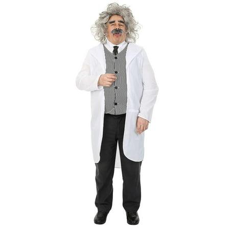 Albert Einstein Adult Costume - Albert Einstein Costumes