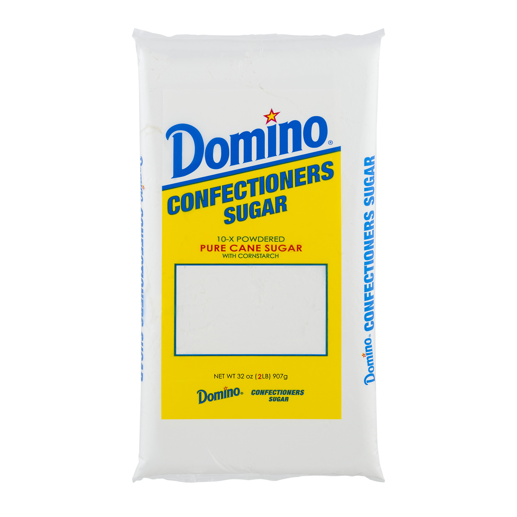 Domino Pure Cane Confectioners 10-X Powdered Sugar, 2 lb