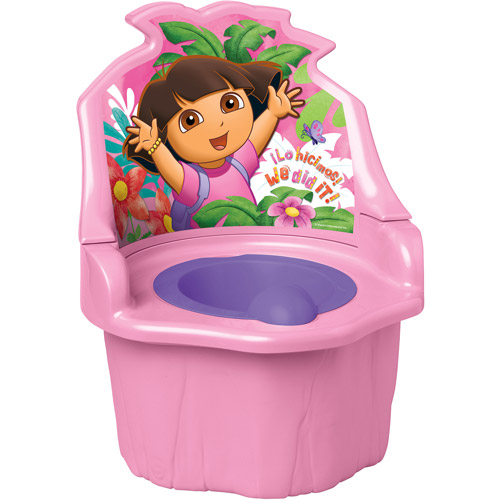Dora the Explorer - 3-in-1 Potty Training Seat, Pink
