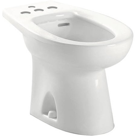 Five Hole Bidet (Toto Piedmont Floor Mounted Porcelain Bidet, Four Hole Faucet Drilling, Available in Various)