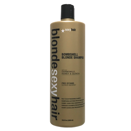 (Blonde Sexy Hair Bombshell Blonde Daily Color Preserving Shampoo 33.8 oz)