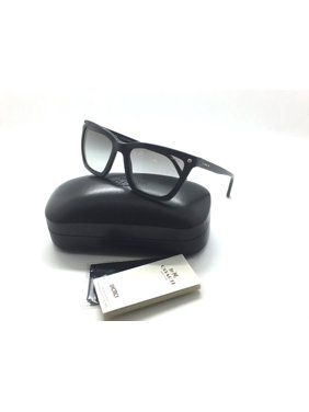 2058e18ab0 Product Image Coach sunglasses HC8191 542011 56mm Black Grey Gradient Cat  rectangle 8191