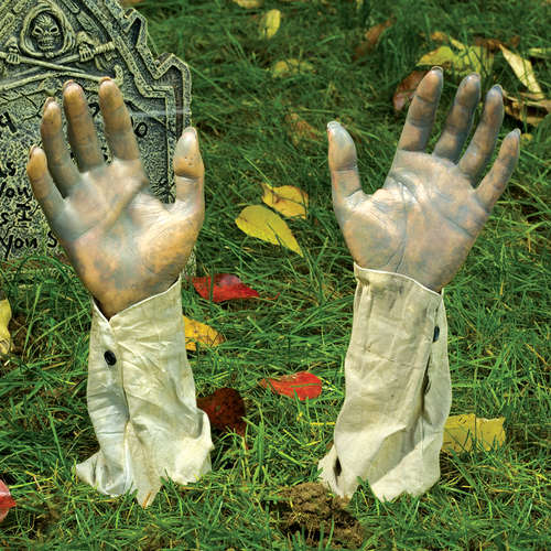 Realistic Halloween Groundbreaker Arms, One Pair