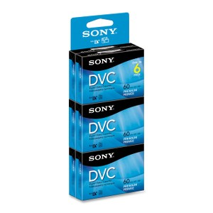 Sony Mini Digital Video Cassettes - DVC - 1 Hour