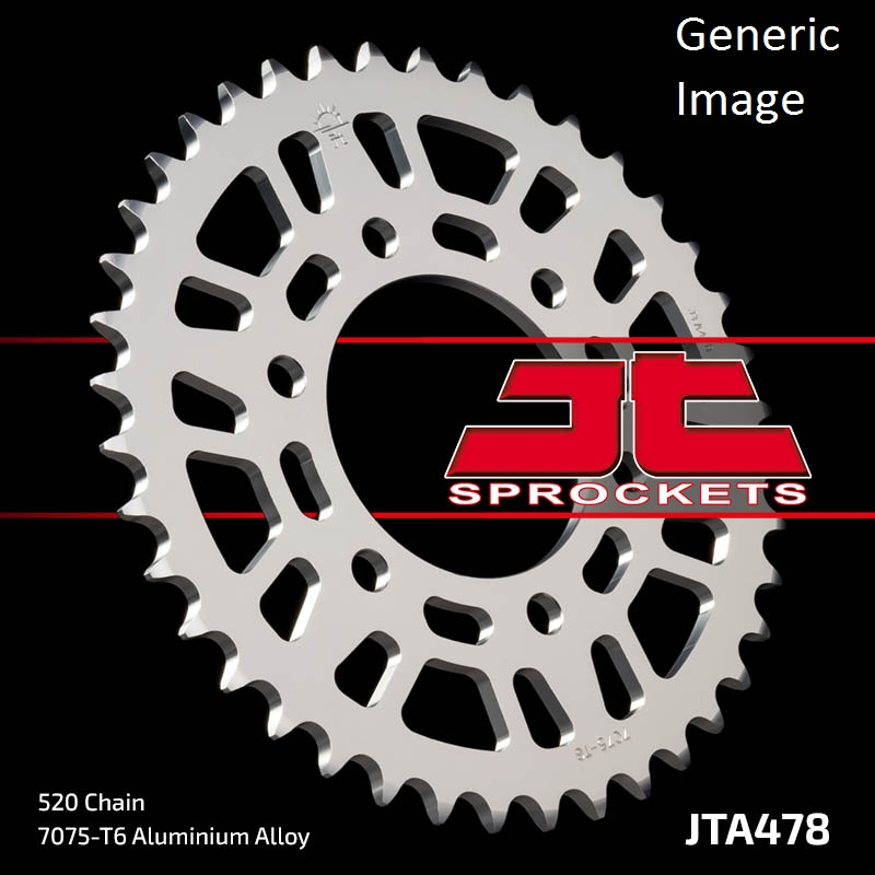 JT USA Aluminum Rear Sprocket 40T for Street KAWASAKI ZX6...