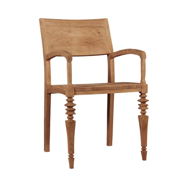 Asta Glam Teak Dining Armchair by Asta