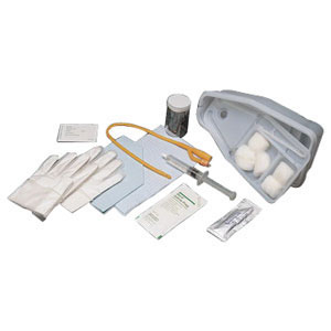 Bi-level universal tray with silicone-coated foley catheter 16 fr 5 cc part no. 781600s (1/ea)