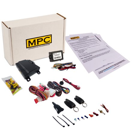 Complete Button Way Remote Start Kit For Acura TL - Acura tl remote start
