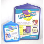 "Tidy Crafts Tidy Tray Combo, 2 per pkg, Small 6"" x 8"", Large 10"" x 14"""
