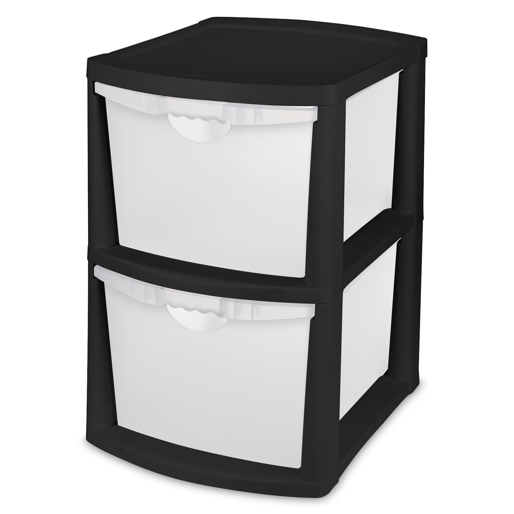 Sterilite  Bin Storage System Black