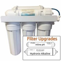 7-Stage pH+Alkaline Zoi Mu Pure Reverse Osmosis System - Neutralizes Acid & Alkalizes Water