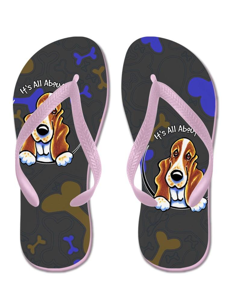 Flip Flops, Funny Thong Sandals, Beach