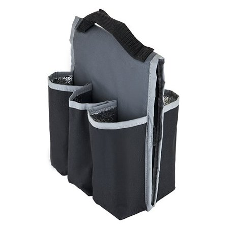 Bike Carrier Bag Insulated Beer Gear 6 Pack Bottle Sold By Case Of