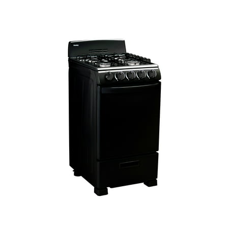 "Danby 20"" Wide Gas Range in Black, DR202BGLP"