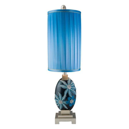 "Ore International 31"" Aqua Demeter Table Lamp"