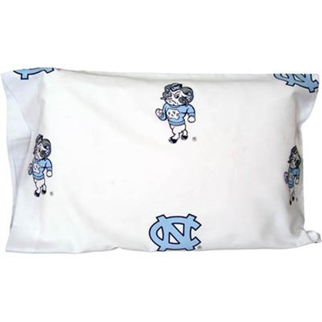 College Covers NCUCSFSWPR North Carolina Tar Heels Baby Crib Fitted Sheet Pair, White