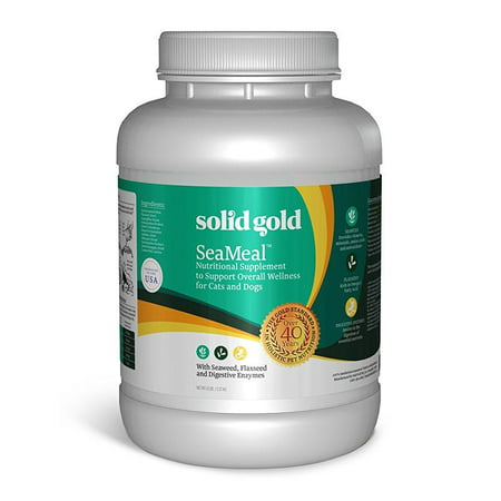 Solid Gold Supplements (Solid Gold Seameal Nutritional All Breed Dog & Cat Supplement, 5)