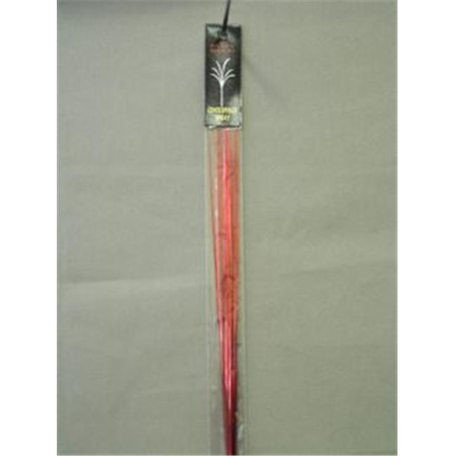 Party Deco 06004-H 21 in. Red Plain Sprays Bagged - Pack of 12