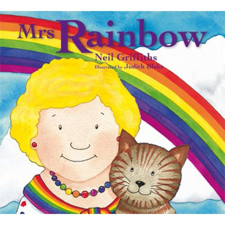 Her Cottage - Mrs Rainbow : In Her Brightly Painted Cottage