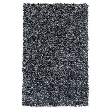 kas rugs bliss heather black area rug. Black Bedroom Furniture Sets. Home Design Ideas