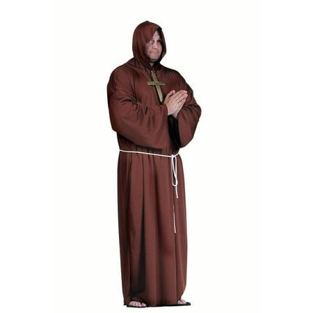 Super Deluxe Monk Costume Plus Size - Monk Costume