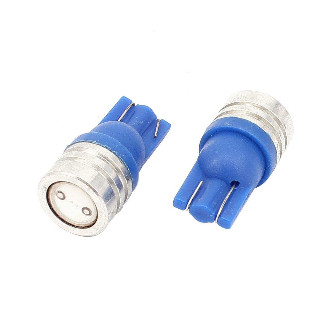 2 pcs T10 1W LED Ampoule Bleue Tableau de Bord Panneau Indicateur Lampe - image 2 de 2
