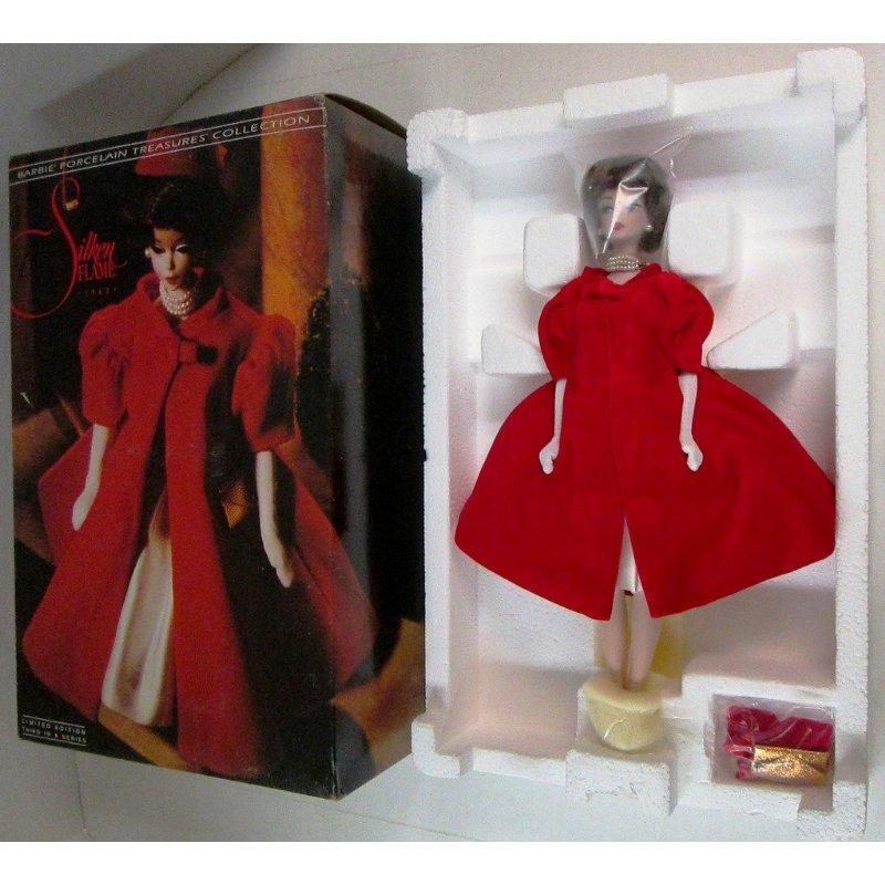 Mattel Limited Edition Porcelain Treasures Silken Flame P...