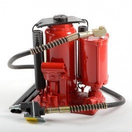 Air Operated End Lift - 12 Ton Air Operated Powered Power Over Hydraulic Portable Bottle Jack Lift