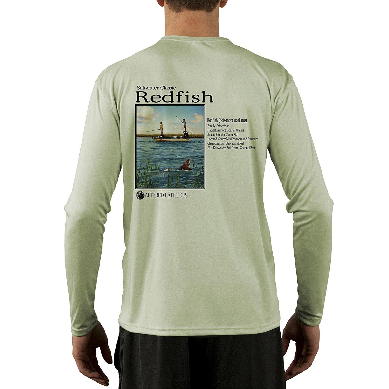 Saltwater Classics Inshore Redfish Men's UPF 50+ UV/Sun Protection Performance T-shirt