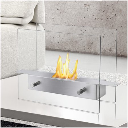 Ignis Products Tab Ventless Bio Ethanol Tabletop Fireplace Walmartcom