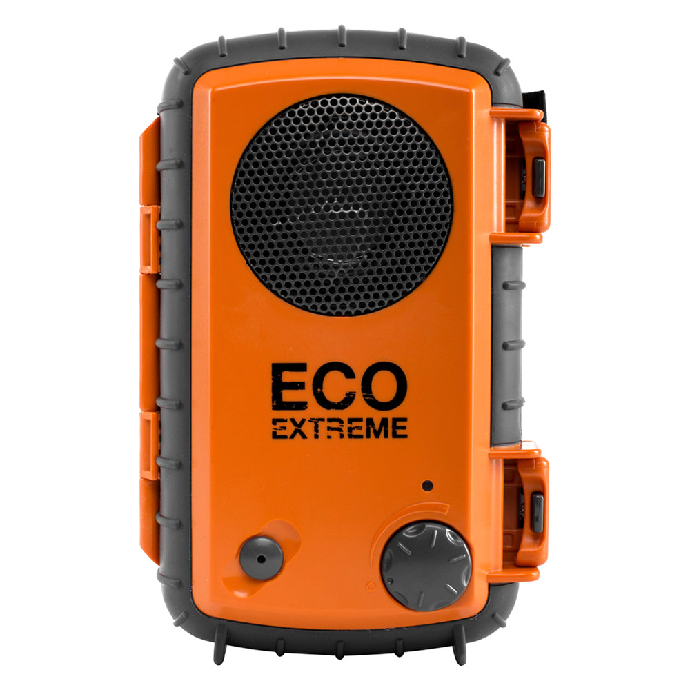 Refurbished ECOXGEAR GDI-AQCSE Waterproof Portable Speaker for MP3 Player/Smartphone-Orange