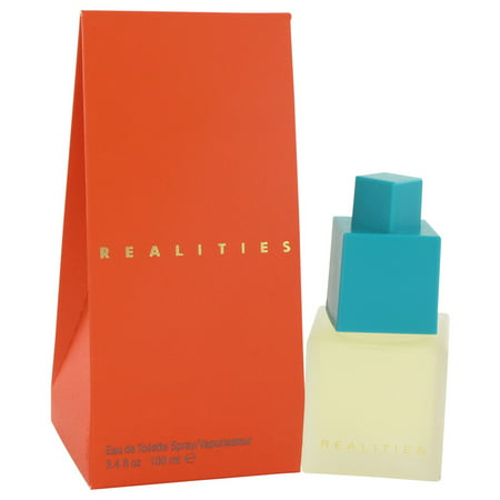 Liz Claiborne REALITIES Eau De Toilette Spray for Women 3.4 oz