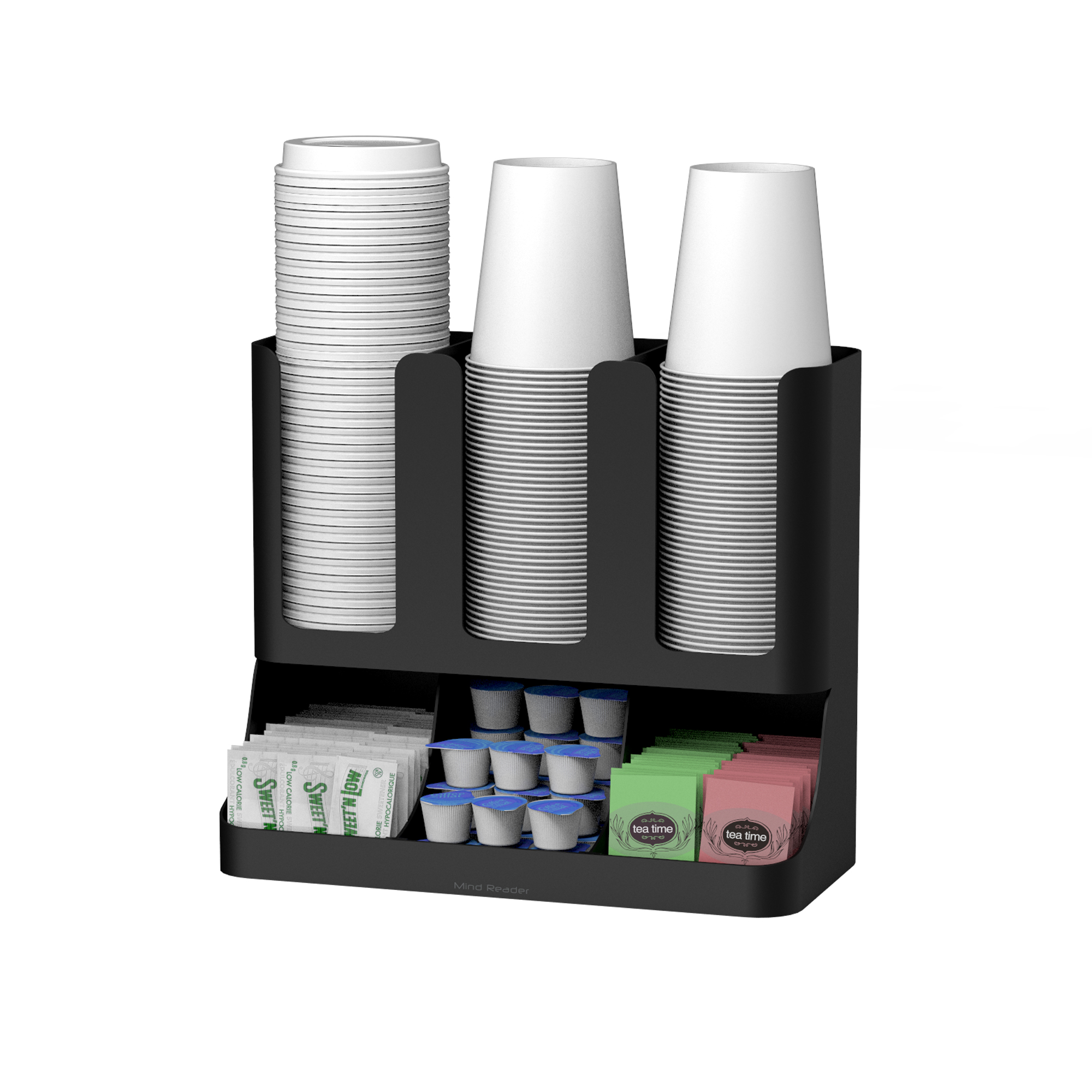 Mind Reader Flume 6 partment Upright Breakroom Coffee