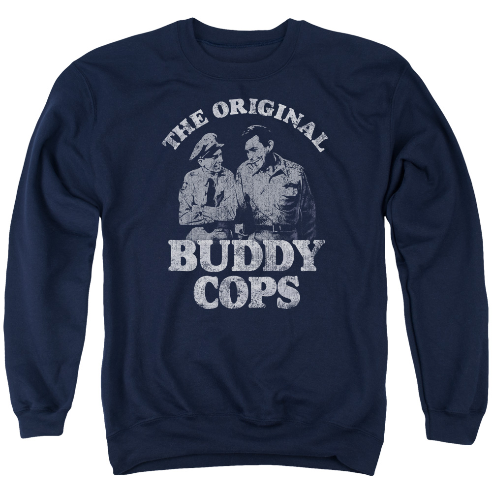 Andy Griffith Buddy Cops Mens Crewneck Sweatshirt