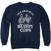 Andy Griffith Buddy Cops Mens Crewneck Sweatshirt