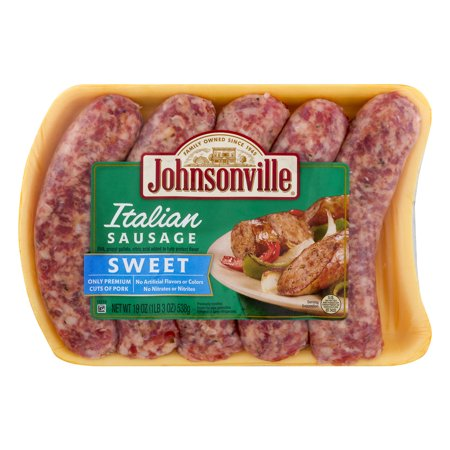Johnsonville sweet italian sausage links 190 oz walmart johnsonville sweet italian sausage links 190 oz stopboris Choice Image