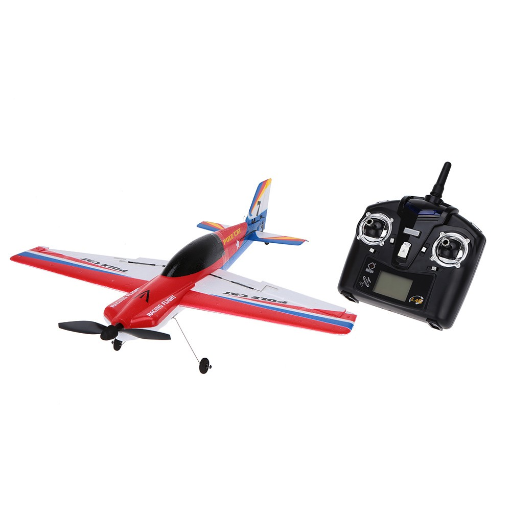 Original Wltoys F939 Upgraded Version 2.4G 4CH Airplane Remote Control Plane Outdoor Toys by