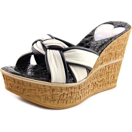 Love and Liberty Sandra Women  Open Toe Leather  Wedge Sandal