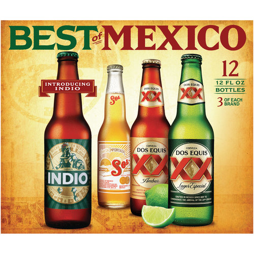 Best of Mexico Variety Pack, 12 fl oz, 12 count